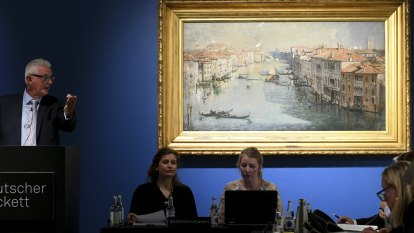 Arthur Streeton's Grand Canal sells for record $3 million at auction
