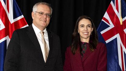 Jacinda Ardern stresses New Zealand, Australia are in lockstep on China