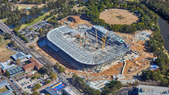 Stoush brewing over Parramatta's move into new stadium