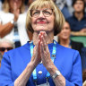 It's looking like a Margaret Court Christmas ... again