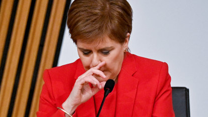 Shaken Sturgeon denies conspiracy in eight-hour testimony