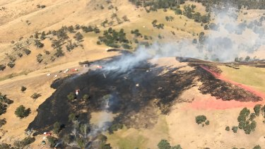 Fires are still burning in East Gippsland.
