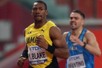 Dual Olympic gold medal-winning sprinter Yohan Blake.