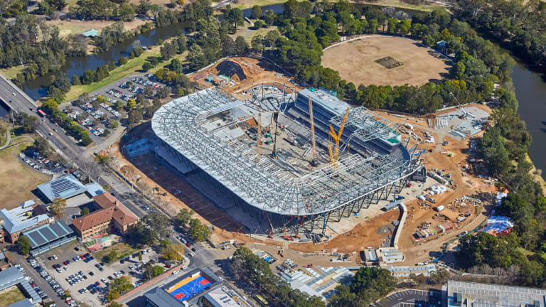New home: The new Western Sydney Stadium, where the Waratahs will play three games in 2019.