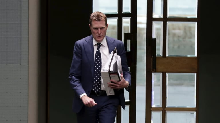 Attorney General Christian Porter asserted the importance of the bill in the House of Representatives on Thursday.