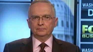 "Fox News has become ""a propaganda machine"", Ralph Peters said."