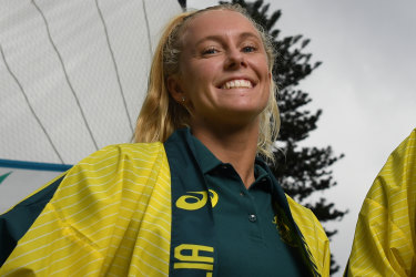 Tess almost died when she was hit by a windsurfer. Now she's going to the Olympics