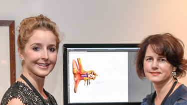 Liz Williams and Kate Lomas, co-founders of Hemideina.