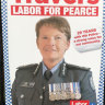 WA police commissioner slams last-minute Labor political posters