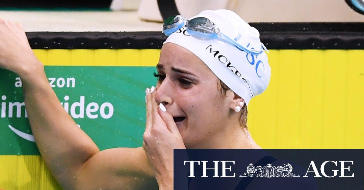 Record-breaking Kaylee McKeown puts world on notice ahead of Tokyo thumbnail