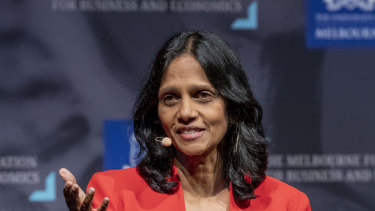 Macquarie Group CEO Shemara Wikramanayake said the company is currently unable to provide meaningful earnings guidance for the year.