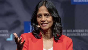 Macquarie Group CEO Shemara Wikramanayake's realised pay for 2019 was $19.3 million.
