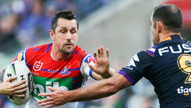 Willing to return: Mitchell Pearce.