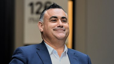 John Barilaro is using tactics that have worked before for the National Party.