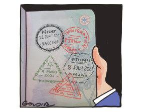 Passport to freedom, anyone?