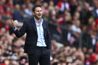 It was no fairytale start for Frank Lampard.