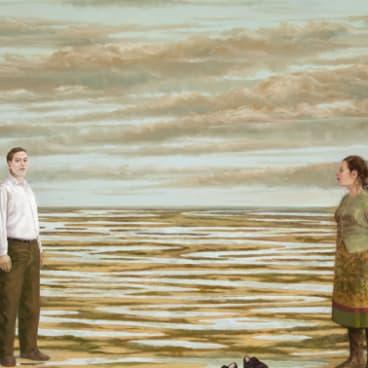 Graeme Drendel, <i>Water game</i>s in <i>On uneven ground</i> at Beaver Galleries.