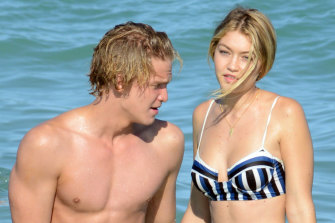 Cody Simpson says he did not like the media attention his relationship with Gigi Hadid brought him.