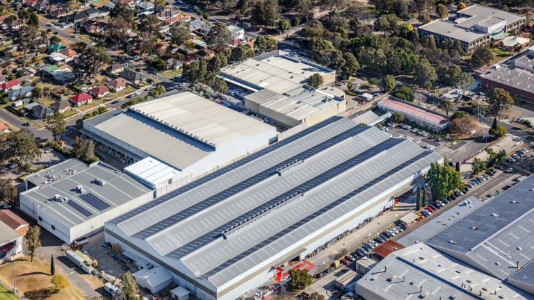 The South Granville, Sydney, 15,302 sqm facility, situated on a 26,740 sqm site, is tenanted by ASX-listed BlueScope Steel.