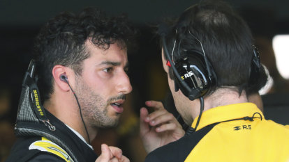 Ricciardo upbeat after the dust settles on his Melbourne disaster