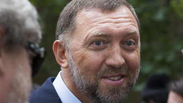 US sanctions will be lifted against three companies linked to Russian billionaire Oleg Deripaska, pictured.