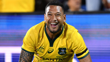 Israel Folau converted to rugby in 2013 after playing at the highest level in rugby league and trying AFL on for size.