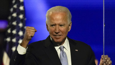 Joe Biden was announced as President-elect on Sunday (AEDST).