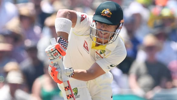 Live Ashes 2017-18: Nervous moments for Aussies as England strikes again