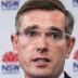 Under pressure, NSW Treasurer Dominic Perrottet.