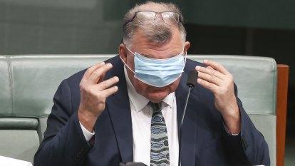 Australia's medical regulator accuses Craig Kelly of copyright breach