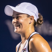 Ashleigh Barty is feeling relaxed and refreshed heading into the US Open.