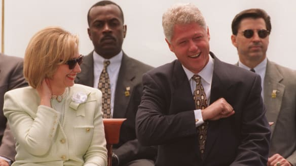 Flashback 1994: Voters savage Bill Clinton and Democrats in midterms