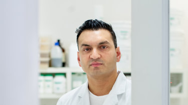 Dr Sud Agarwal, chief executive of Cannvalate, says the new medicinal cannabis manufacturing plant will reduce Australia's reliance on imported products.