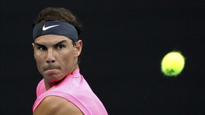 While Nadal issues a rallying cry, tennis' lesser lights beg for help