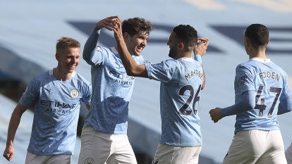 City win 20th straight game to lead Premier League by 13 points