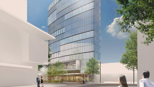 ACT Greens oppose Geocon's 14-storey Garema Hotel proposed for Canberra city