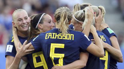 Sweden book Dutch semi-final in World Cup