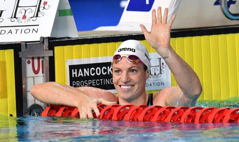 Seebohm Battles Lane Ropes In Bid To Swim Straight In