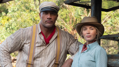 The Rock and Emily Blunt's new film is good fun, and full of wit