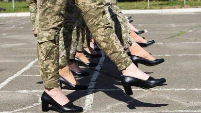 Backlash after Ukrainian army makes women march in heels
