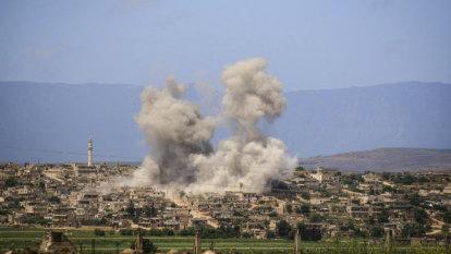 Renewed air strikes stoke fears of a final Idlib showdown