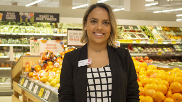 """""""I think it's a really great strategy"""": Bonny Rawson, who works as a deli product technologist for Coles."""