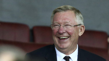 Alex Ferguson has spoken for the first time since a serious health crisis.