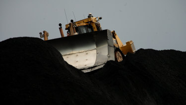 Whitehaven Coal reported a sharply lower profit last financial year.
