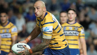 Parramatta's Blake Ferguson will be in for a busy night.
