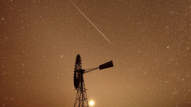 The meteor shower will be visible across Australia.