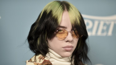 Singer-songwriter Billie Eilish in 2019.