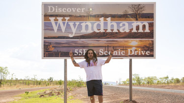 Dallas Woods recently visited his home town of Wyndham as part of a Red Bull documentary series. `