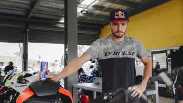 Jack Miller is hoping for a podium finish at his home grand prix.