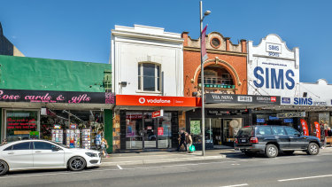 A development boom is keeping investors primed in the Puckle Street shopping strip with No. 57 selling for$1.54 million.
